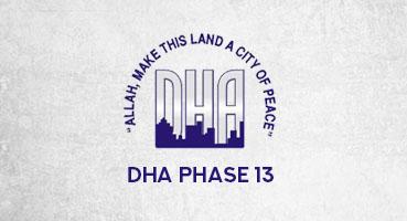 DHA Phase 13 logo