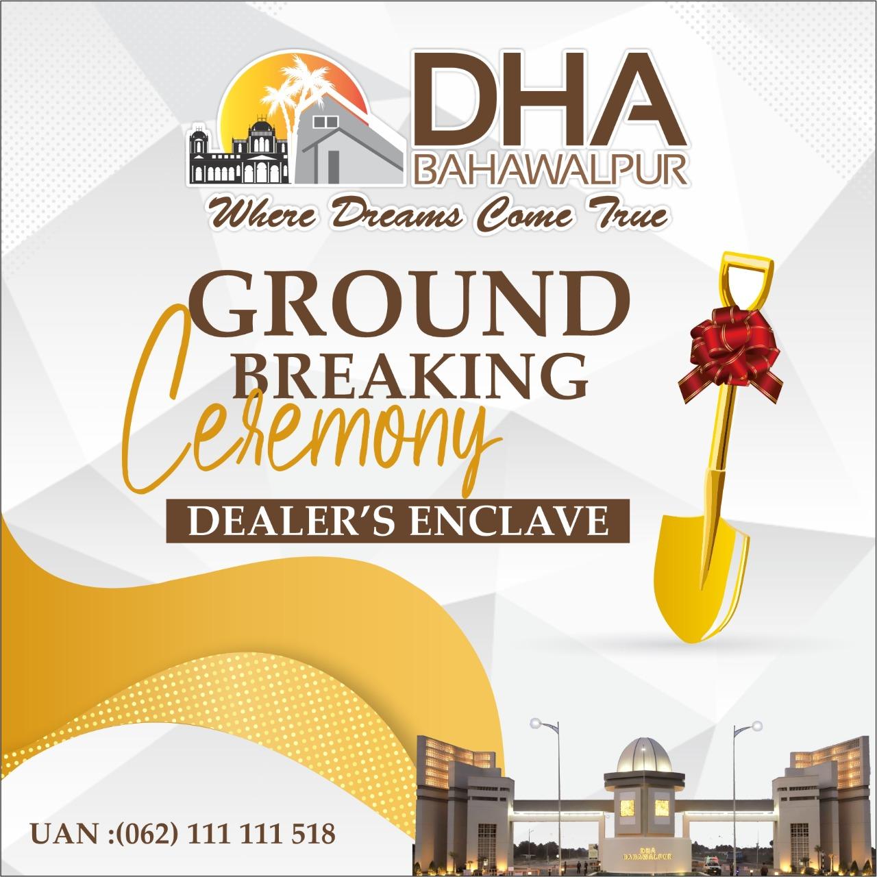 DHA Bahawalpur Ground breaking ceremony dealers enclave